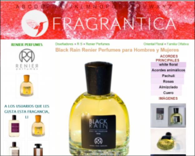Renier Perfumes en Fragrantica