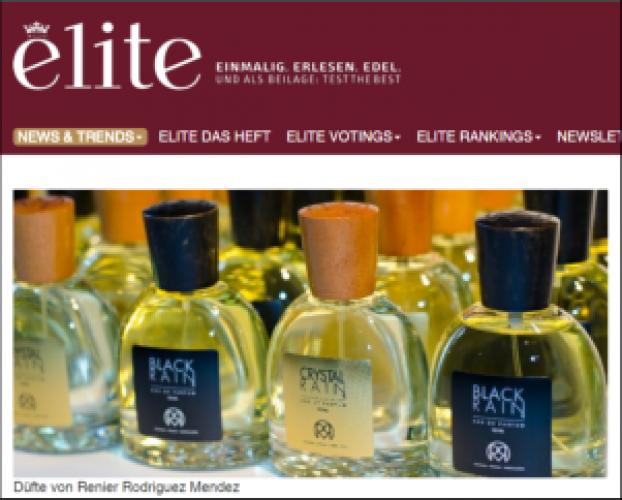 Elite Magazine: Düfte von Renier Rodríguez Méndez.